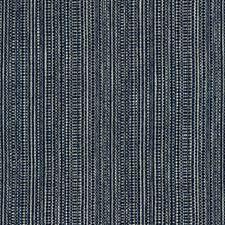 Dark Blue/Indigo/White Texture Decorator Fabric by Kravet