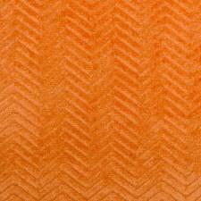 Orange Herringbone Decorator Fabric by Duralee
