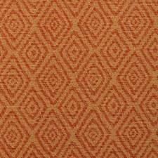 Terracotta Diamond Decorator Fabric by Duralee