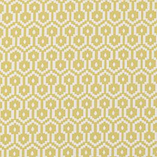 Yellow Dots Decorator Fabric by Duralee