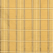 Gold Check Decorator Fabric by Fabricut