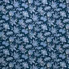 Indigo Jacobean Decorator Fabric by Fabricut