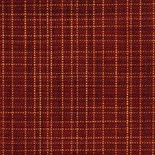 Claret Check Decorator Fabric by Fabricut