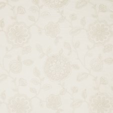 Cream Embroidery Decorator Fabric by Fabricut