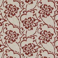 Red Decorator Fabric by Robert Allen/Duralee