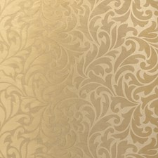 Gold Scrollwork Decorator Fabric by Fabricut