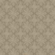 Taupe Medallion Decorator Fabric by Fabricut