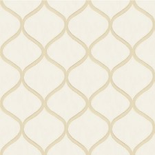 Cream Bargellos Decorator Fabric by Kravet