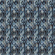 Sapphire Contemporary Decorator Fabric by Stroheim