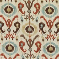 Copper Ethnic Decorator Fabric by Duralee
