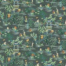 Laurel Asian Decorator Fabric by Stroheim