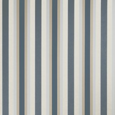 Denim Stripes Decorator Fabric by Trend