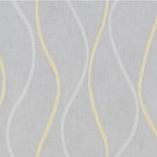White/Yellow Modern Decorator Fabric by Kravet