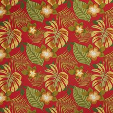 Flame Floral Decorator Fabric by Trend