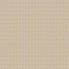 Metallic Geometric Decorator Fabric by Stroheim