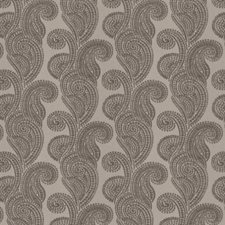 Silver Paisley Decorator Fabric by Trend