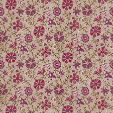Mulberry Floral Decorator Fabric by Fabricut
