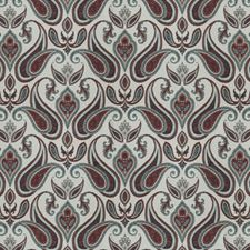 Patriot Paisley Decorator Fabric by Trend