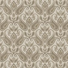 Charcoal Paisley Decorator Fabric by Trend