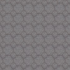 Charcoal Embroidery Decorator Fabric by Trend