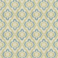 Lagoon Geometric Decorator Fabric by Vervain