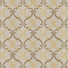 Bronze Embroidery Decorator Fabric by Fabricut