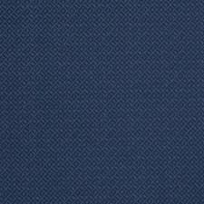Navy Lattice Decorator Fabric by Stroheim