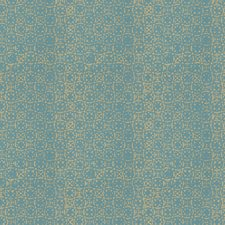 Teal Print Pattern Decorator Fabric by Fabricut