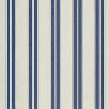 Navy/Taupe Fancy Decorator Fabric by Sunbrella