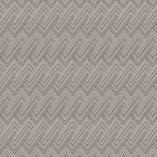 Heather Grey Flamestitch Decorator Fabric by S. Harris