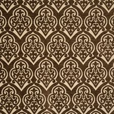 Obsidian Jacquard Pattern Decorator Fabric by Vervain