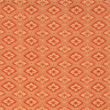 Carnelian Small Scale Woven Decorator Fabric by Vervain