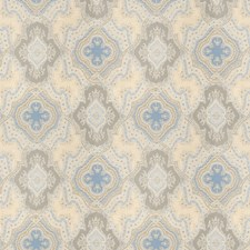 Denim Paisley Decorator Fabric by Vervain