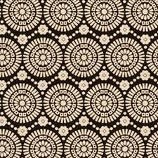 Jet Geometric Decorator Fabric by Fabricut