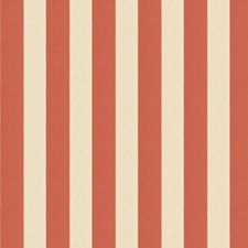 Papaya Stripes Decorator Fabric by Fabricut