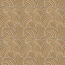 Gold Leaf Asian Decorator Fabric by Fabricut