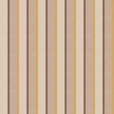 Gold Leaf Stripes Decorator Fabric by Stroheim
