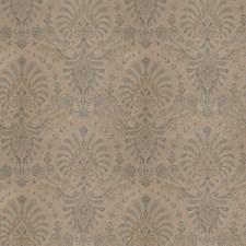 Azure Paisley Decorator Fabric by Stroheim