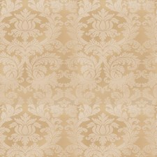 Cornsilk Damask Decorator Fabric by Stroheim