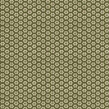 Evergreen Geometric Decorator Fabric by Stroheim
