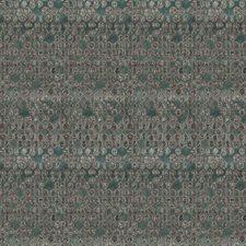 Aqua Envy Contemporary Decorator Fabric by S. Harris