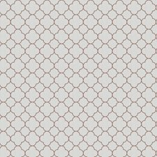 Latte Lattice Decorator Fabric by Trend