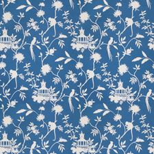 Blue Global Decorator Fabric by Trend