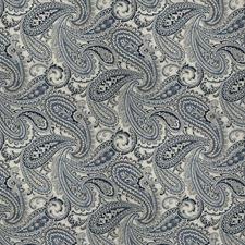 Indigo Paisley Decorator Fabric by Fabricut
