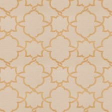 Gold Embroidery Decorator Fabric by Fabricut