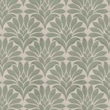 Jade Damask Decorator Fabric by Fabricut