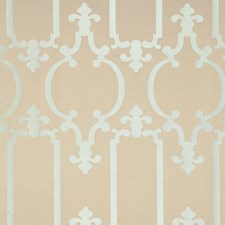 Silvered Aqua Decorator Fabric by Schumacher