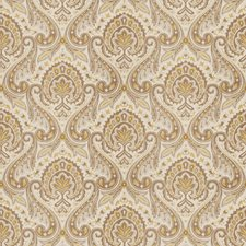 Flax Paisley Decorator Fabric by Fabricut