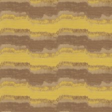 Yellow Sin Stripes Decorator Fabric by S. Harris