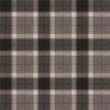 Charcoal Check Decorator Fabric by Stroheim